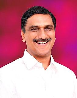T. Harish Rao Indian politician