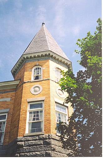 Derby Line, Vermont - Haskell Free Library and Opera House