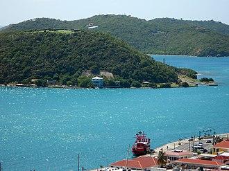 Hassel Island, U.S. Virgin Islands - Image: Hassel Island USVI