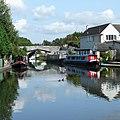 Hatherton Branch Canal at Hatherton Junction, Staffordshire - geograph.org.uk - 966778.jpg