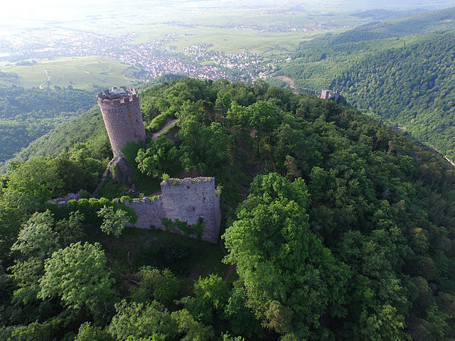 Château du Haut-Ribeaupierre, Ribeauvillé