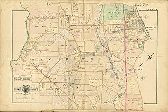 Havertown, Pennsylvania - Haverford Township c. 1902