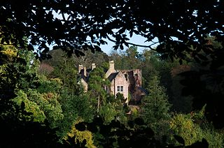 Hawthornden Castle Castle in Midlothian, Scotland, UK