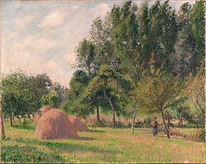 Haystacks, Morning, Éragny