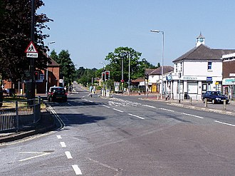 Hedge End - Image: Hedge End