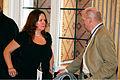 Heidi Sorensen statssekreterare fran Norska miljo- och utvecklingdepartementet tillsammans med Steingrimur Sigfusson vid Nordis Radets session i Olso. 2007-10-30. Foto- Magne Kveseth-norden.org.jpg