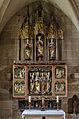 Heilsbronn, Münster, Elftausend-Jungfrauen-Altar, 001.jpg
