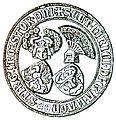 Heinrich II zu Mecklenburg Siegel.jpg