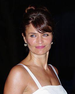 Helena Christensen Danish model and photographer