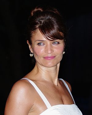Helena Christensen - Christensen at the 2012 Tribeca Film Festival