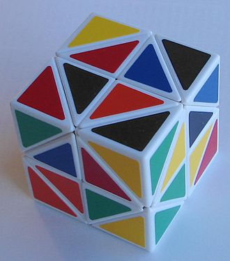 Helicopter Cube - Helicopter cube, scrambled