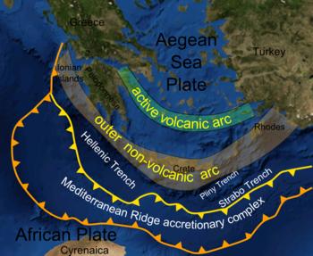 Mediterranean Ridge Wikipedia