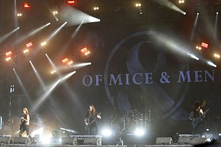 Of Mice & Men (band) American metalcore band