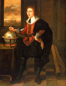 Hendrick van der Borcht, Navigator with Globe and Dividers.jpg