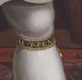Henry VIII Ditchley Portrait after Holbein (Garter detail).png