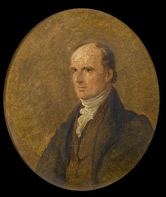 Henry Warburton - As painted by George Hayter in 1833.