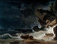 Henry d'Arles 1767 Tempête sur une côte rocheuse.jpg