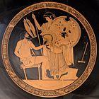 Hephaistos Thetis at Kylix by the Foundry Painter Antikensammlung Berlin F2294.jpg