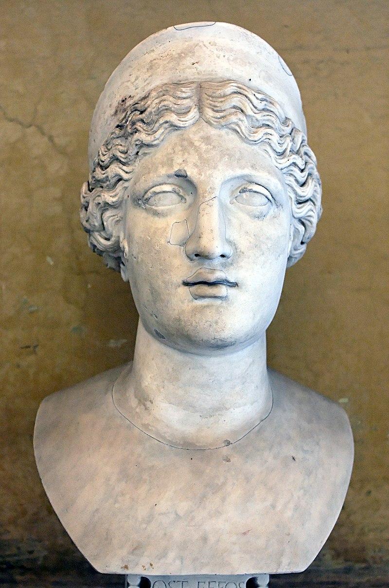 سردیس هرا در موزه Chiaramonti