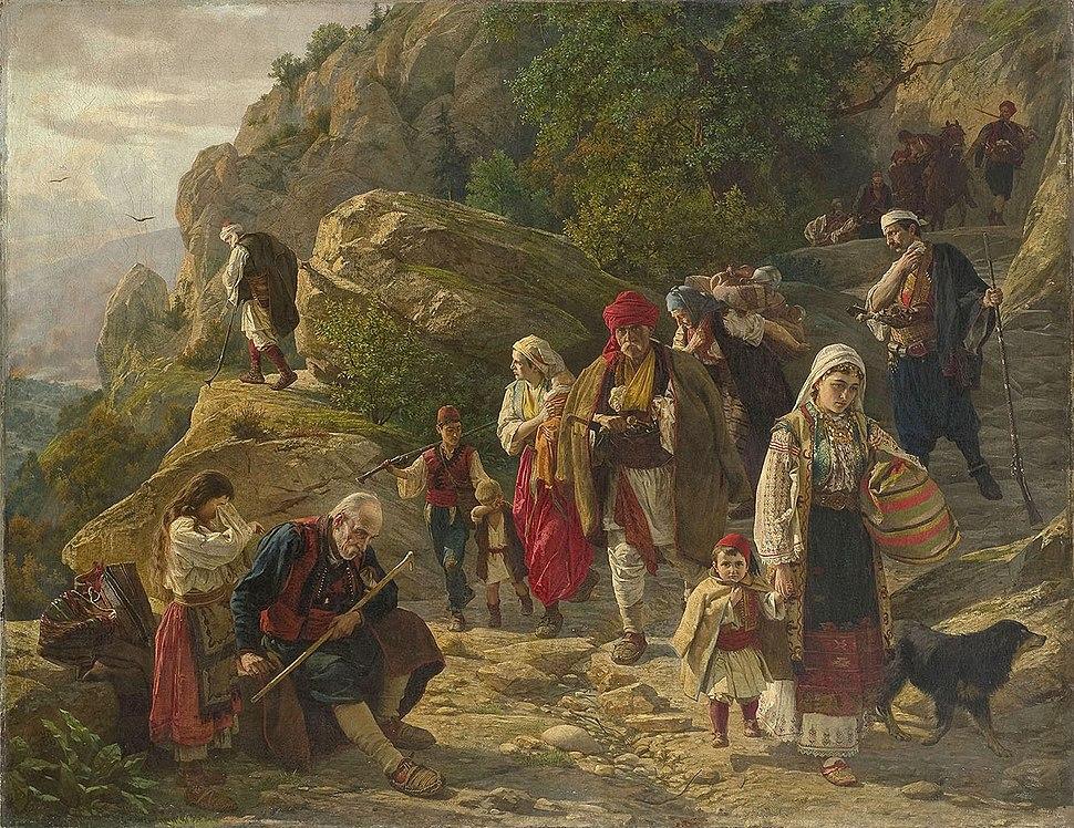 Hercegovački begunci, Uroš Predić