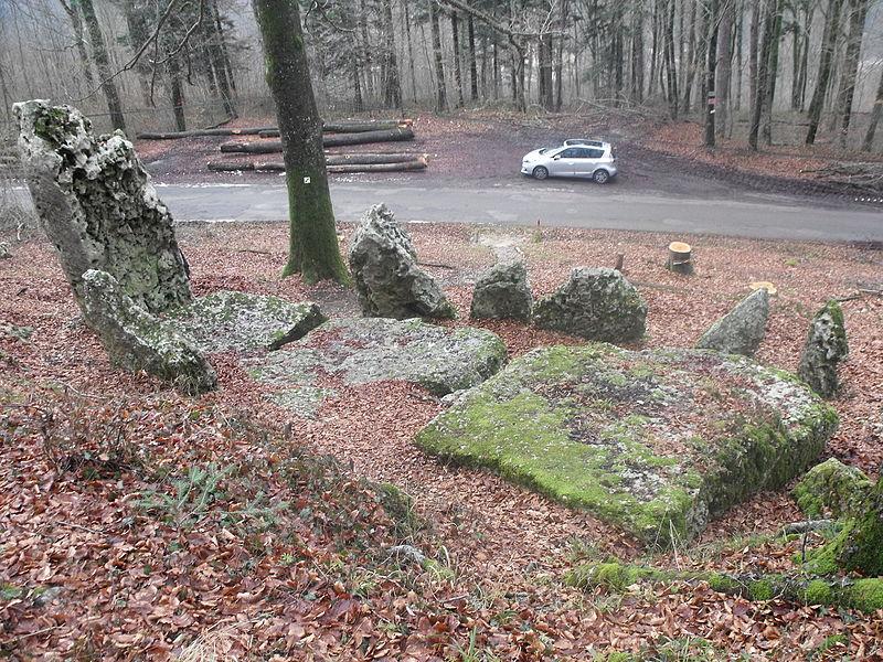 Cromlech des Fourneaux - Hérimoncourt - Doubs, France