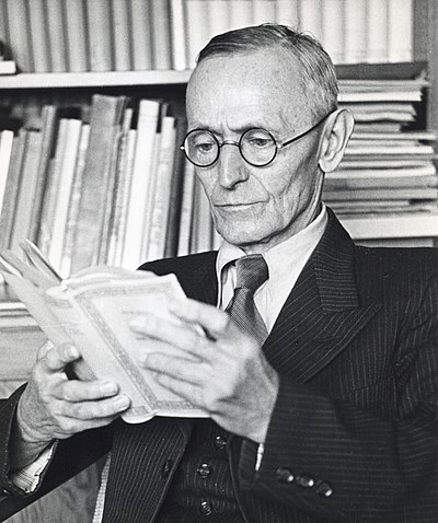 Picture of an author: Herman Hesse