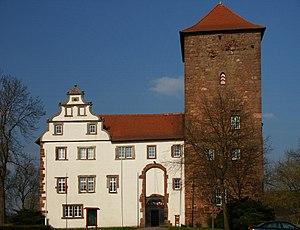 Bad Hersfelder Festspiele - Castle Eichhof in Bad Hersfeld, front view