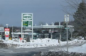 Hess Corporation - A former Hess Station in Rensselaer County, New York