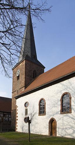Heuchelheim Klingen evangelische Kirche Heucheöheim 20140306