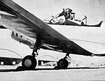 Hicks Field - Fairchild PT-19 Trainer on Flightline with Cadet.jpg