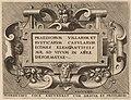 "Hieronymus Cock (publisher), Title Page for ""Praediorum Villarum"", 1561, NGA 47688.jpg"