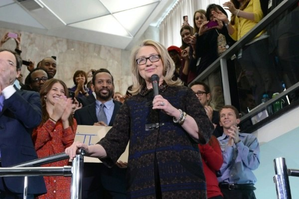Hillary Rodham Clinton farewell remarks to State Department employees