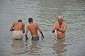 Hindu Devotees Taking Holy Dip In Ganga - Makar Sankranti Observance - Kolkata 2018-01-14 6647.JPG