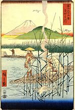 Hiroshige, The Sagami river.jpg