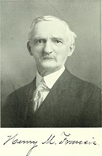 Henry M. Francis American architect