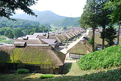 Historic landscape of Ouchi village1,Shimogo-town,Japan.JPG