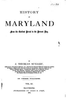 History of Maryland, 1879, v3.djvu