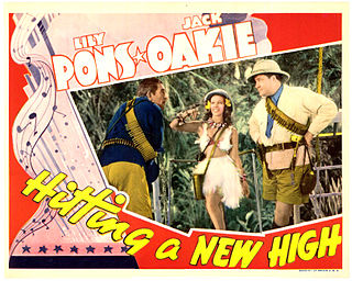 <i>Hitting a New High</i> 1937 film by Raoul Walsh