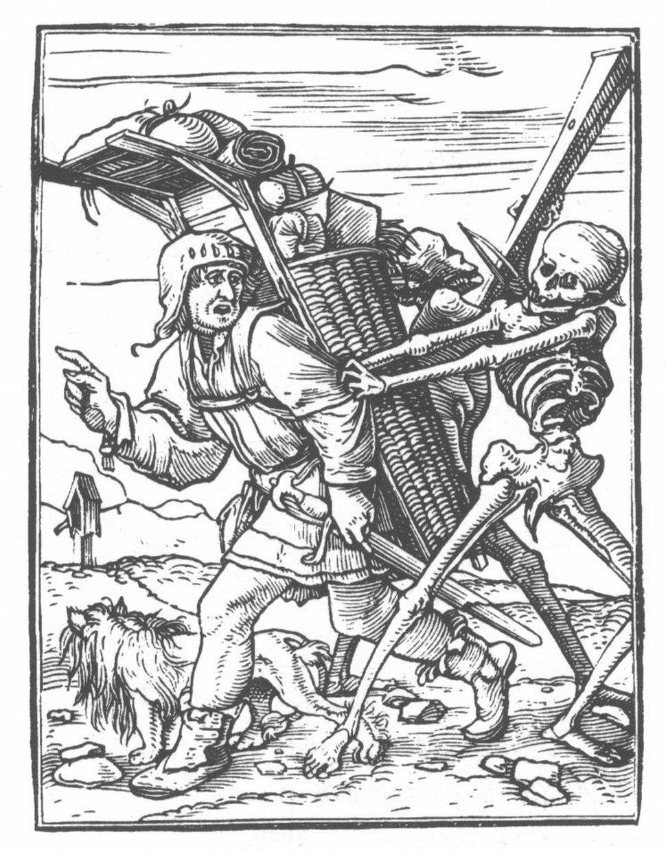 Holbein Danse Macabre 37