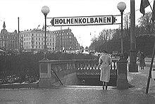 holmenkollbanen kart T banen i Oslo – Wikipedia holmenkollbanen kart