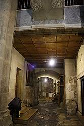 Holy Sepulchre hallway outside Chapel of Derision.jpg