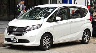 Honda Freed Motor vehicle