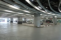 Hong Kong West Kowloon Station B1 Drop off area 2018.jpg