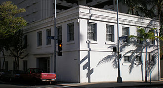 Merchant Street Historic District - Image: Honolulu Merchantst 51 Melcher bldg