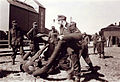 Horse play in Verdal by grain silo May 3rd 1940.jpg