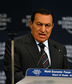 Hosni Mubarak - World Economic Forum on the Middle East 2008 edit1
