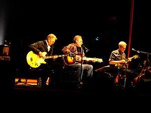 Hot Tuna - Casady, Kaukonen, and Mitterhoff, performing at The Somerville Theater near Boston, Mass. on June 18, 2013