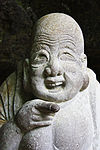 Hotei, god of happiness at Jōchi-ji temple.jpg