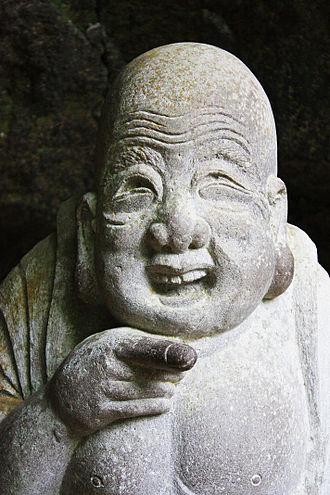 Jōchi-ji - Hotei, god of happiness at Jōchi-ji temple