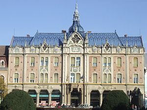 Dacia Hotel - Image: Hotel Dacia, Satu Mare Romania 1